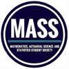 Mathematics, Actuarial Science, and Statistics Students' Society's logo